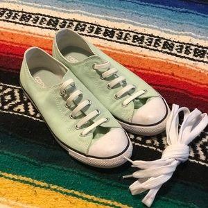 Converse All Star Sneakers- Aqua- Women's Size 7